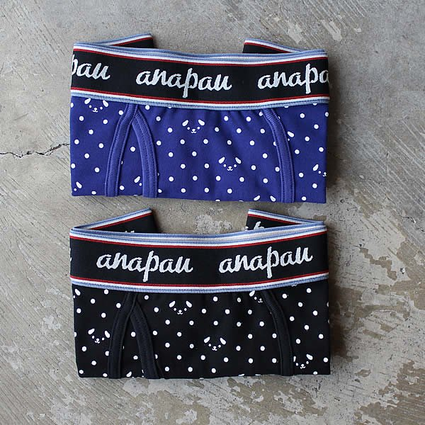 anapau / ボクサーパンツ (ドッグドット)