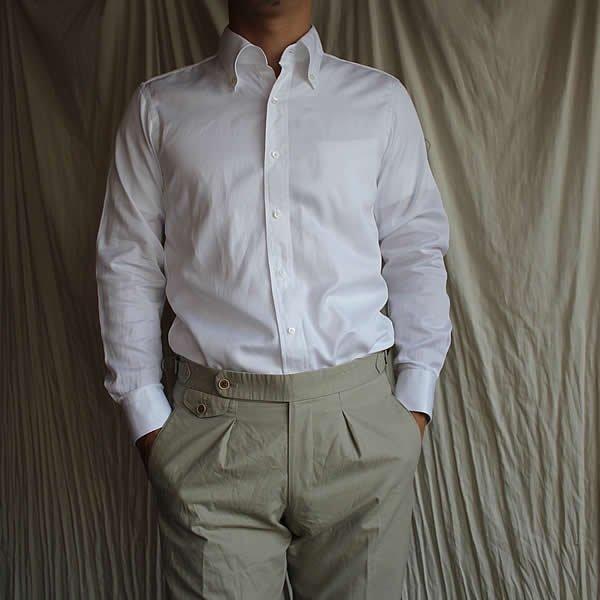 *受注生産*Atelier de vetements shirt / No.34  GIZA cotton button-down shirts