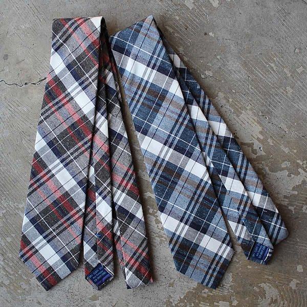 Rivers field / Silk Nep Tie (チェック)