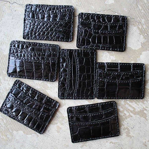 Atelier de vêtements×terve / crocodile card case