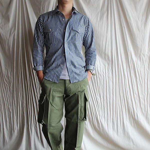 *受注生産*Atelier de vetements shirt / No.31 french collar dress shirt