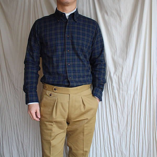 *受注生産*Atelier de vetements shirt / No.36 light flannel button-down shirts