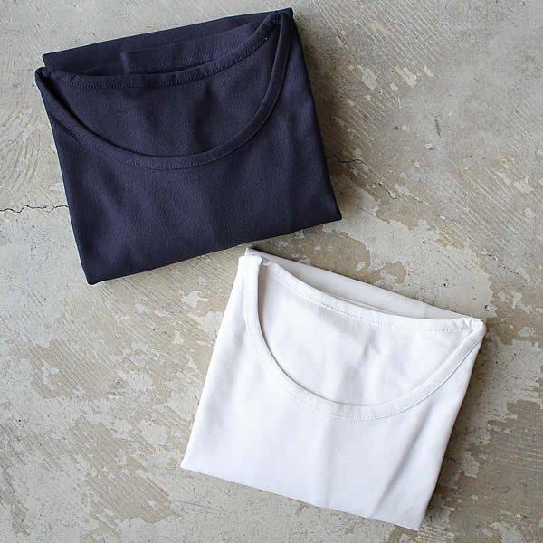 東大阪繊維研究所 / HOFI-002 インド超長綿天竺 丸首Tシャツ