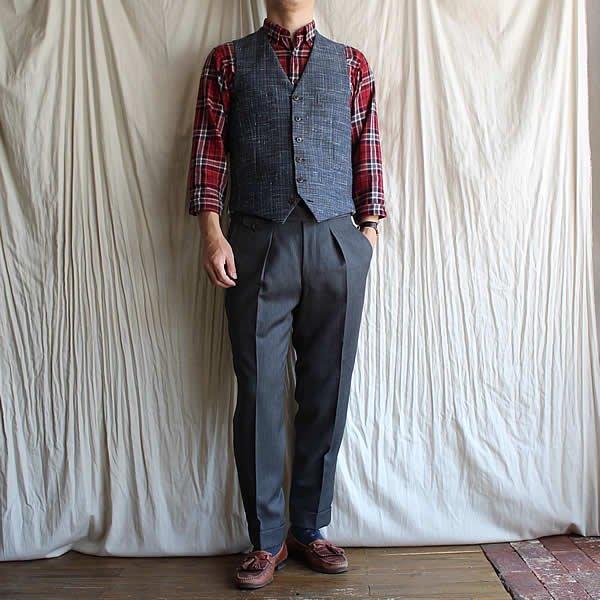 *受注生産*Atelier de vetements custom trousers / trousers No.1 (国産デッドストックウール)
