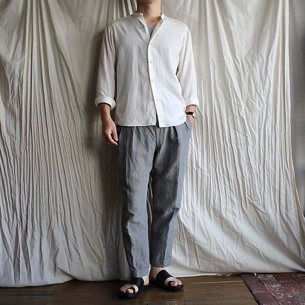 *受注生産*Atelier de vetements custom trousers / trousers No.7 (Italian linen)