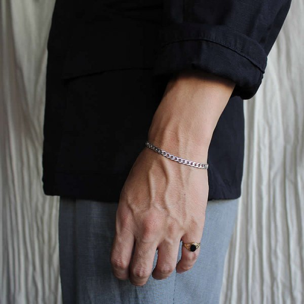 50s vintage silver bracelet no,13 (England)