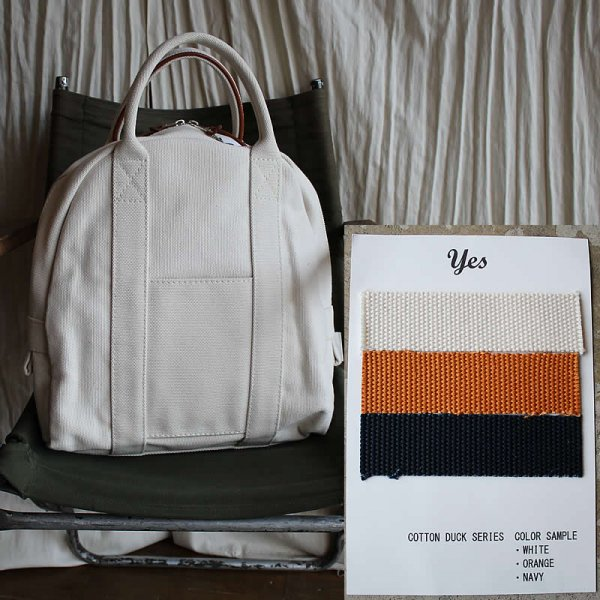 *受注生産*yes / COTTON DUCK BOSTON BAG (3色)