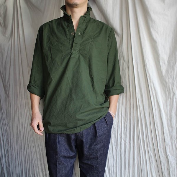 Dead Stock / 1970s SWEDISH ARMY M55 MILITARY SHIRT