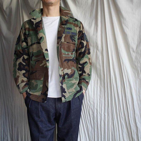 Vintage / US ARMY Jacket (BDU) WOODLAND CAMOUFLAGE