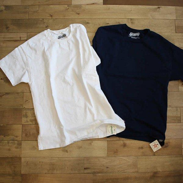 Sloppy / 無地Tシャツ -MADE IN USA-