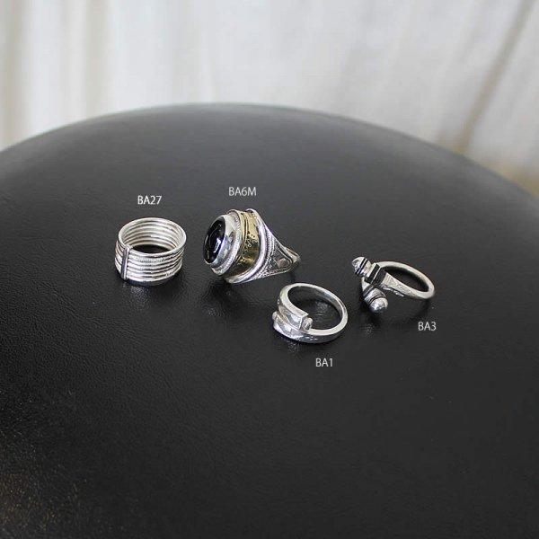 tuareg jewelry / silver ring 4種