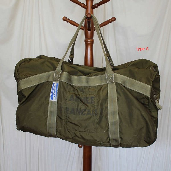 Vintage / French pilot kit bag 1980〜1990s