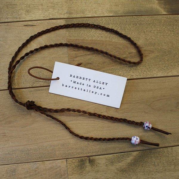 Barrett Alley / Braided Leather Wrap Bracelets