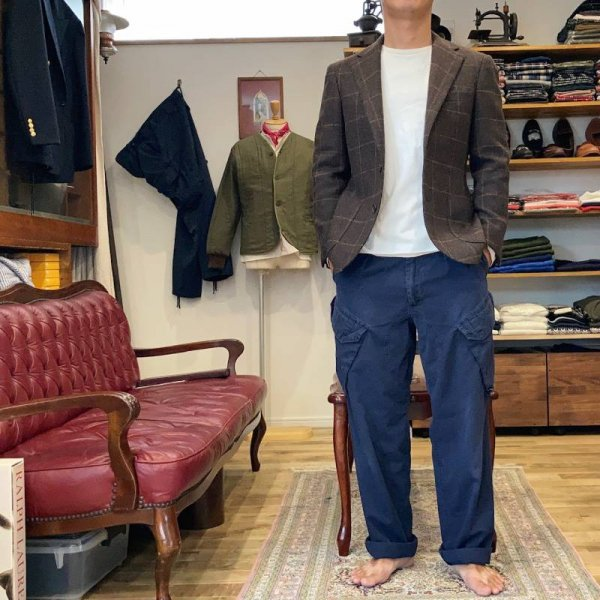 Vintage / イギリス軍カーゴパンツ british royal navy combat trousers