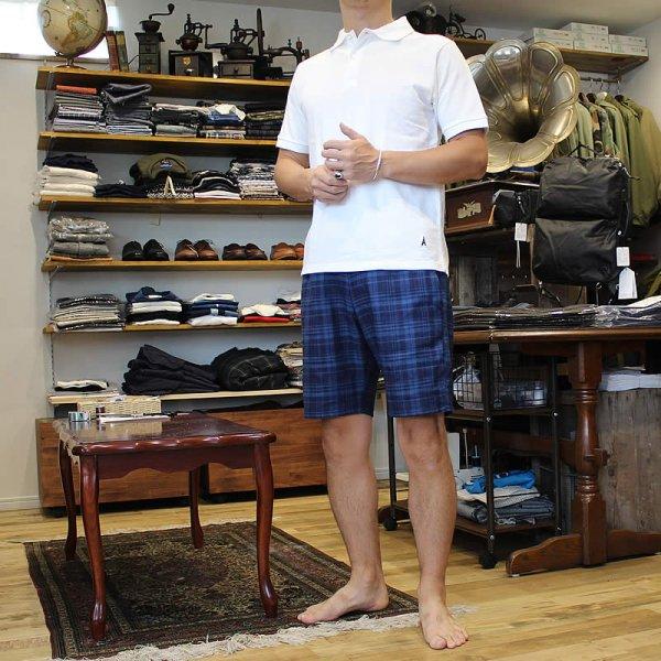 Atelier de vetements / easy dress shorts -indigo linen twill-