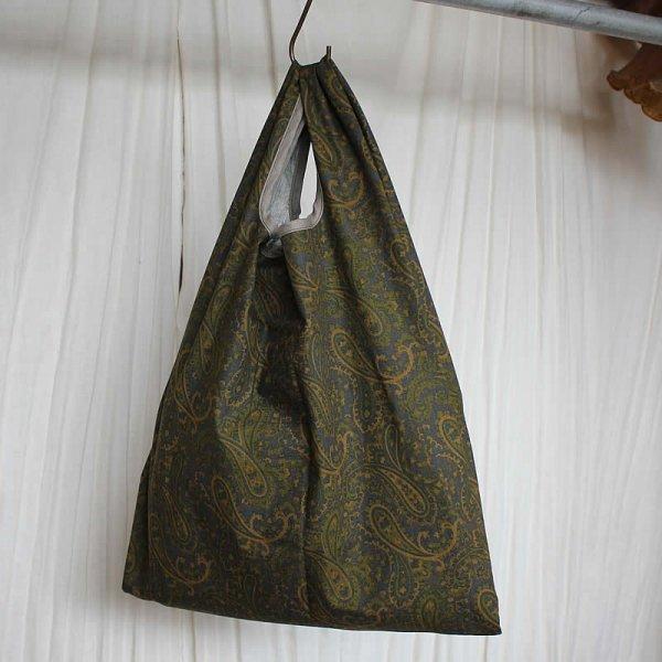 Atelier de vetements / 贅沢なコンビニ袋 (cotton rip stop paisley print)