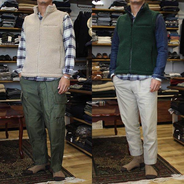 COLD BREAKER / wool fleece vest