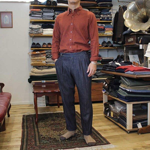 Atelier de vetements / light flannel button-down shirts ,cloth of CANCLINI