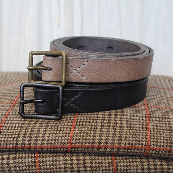 別注 COLINA de passaros / handmade leather normalbelt 25mm幅