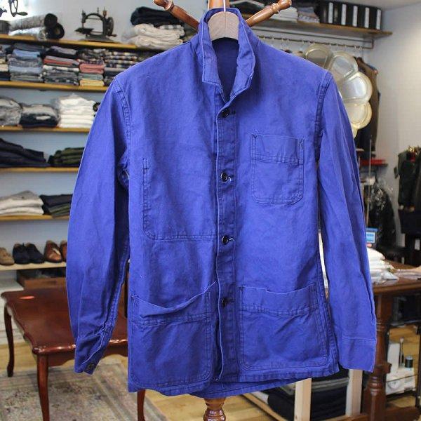Vintage / french work jacket *a (洗濯、乾燥機済)