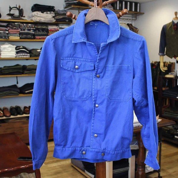 Vintage / french work jacket *b (洗濯、乾燥機済)