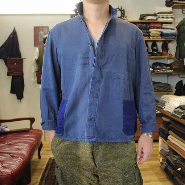 Vintage / french work jacket *d (洗濯、乾燥機済)