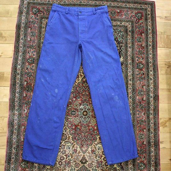 Vintage / french work pants *a (洗濯、乾燥機済)