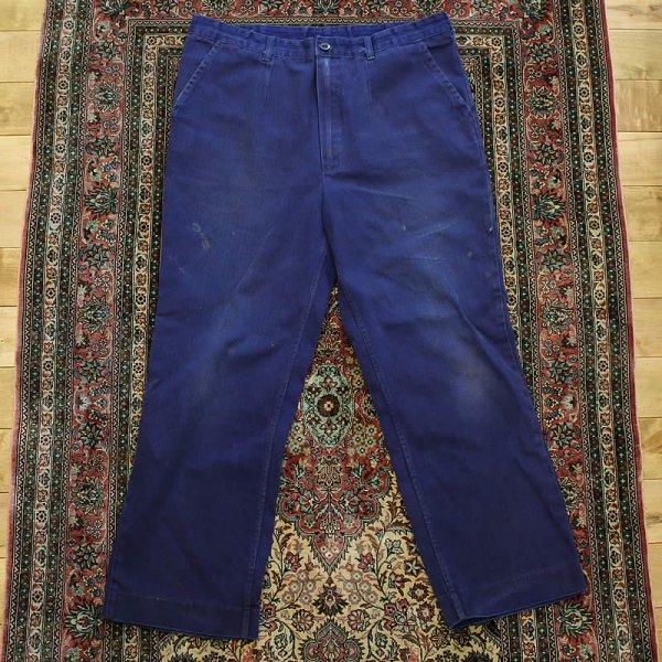 Vintage / french work pants *b (洗濯、乾燥機済)