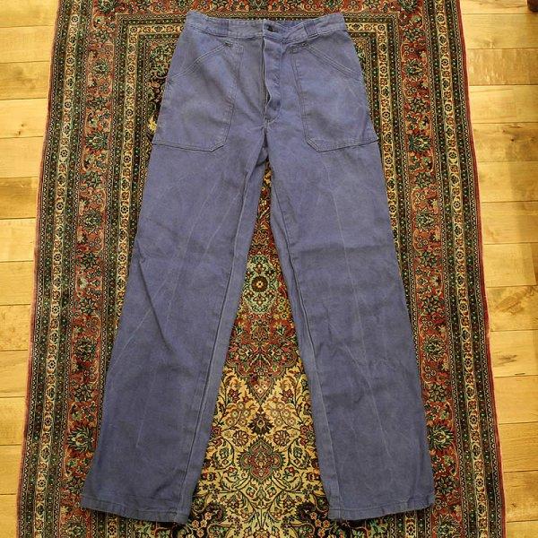 Vintage / french work pants *e (洗濯、乾燥機済)