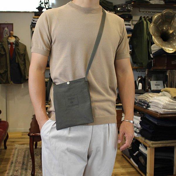 Atelier de vetements / shoulder mini bag -highdensity milicloth-
