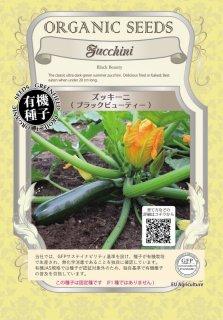 ズッキーニ / ブラック ビューティ / 有機 種子 固定種 / グリーンフィールド / 果菜 [大袋]