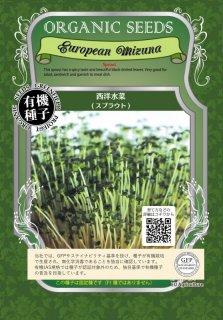 西洋 水菜 / 有機 種子 / グリーンフィールド / スプラウト [中袋]