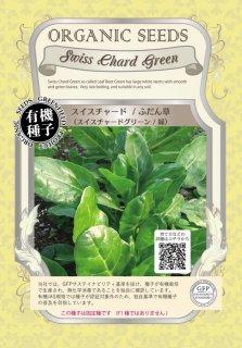 チャード スイスチャード / ふだん草 / 緑 / 有機 種子 固定種 / グリーンフィールド / 葉菜 [大袋]