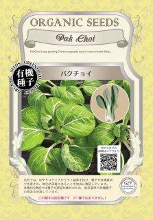 パクチョイ / 有機 種子 固定種 / グリーンフィールド / 葉菜 [大袋]
