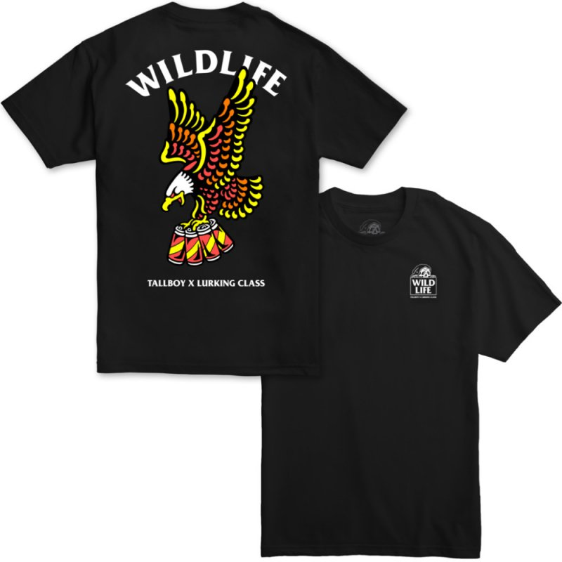 <img class='new_mark_img1' src='https://img.shop-pro.jp/img/new/icons14.gif' style='border:none;display:inline;margin:0px;padding:0px;width:auto;' />WILD LIFE x TALLBOY TEE