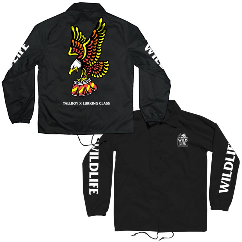 <img class='new_mark_img1' src='https://img.shop-pro.jp/img/new/icons14.gif' style='border:none;display:inline;margin:0px;padding:0px;width:auto;' />WILD LIFE x TALLBOY COACHES JACKET