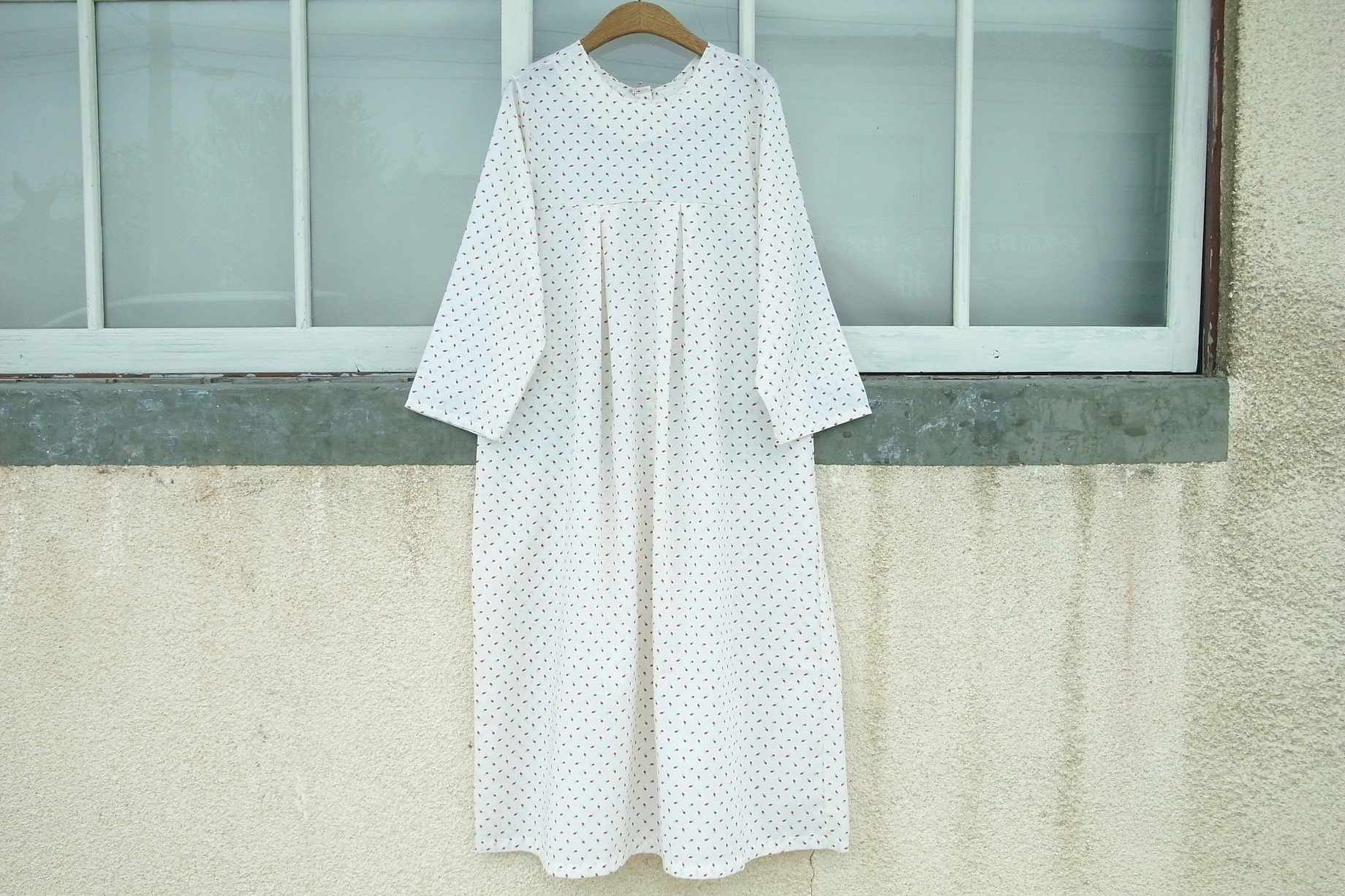 vintage/enchanting breakfast one-piece