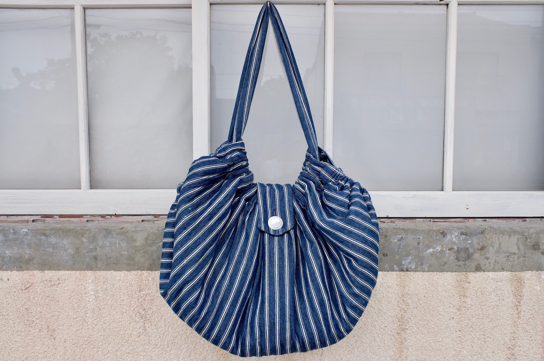 vintage/seashell slide bag