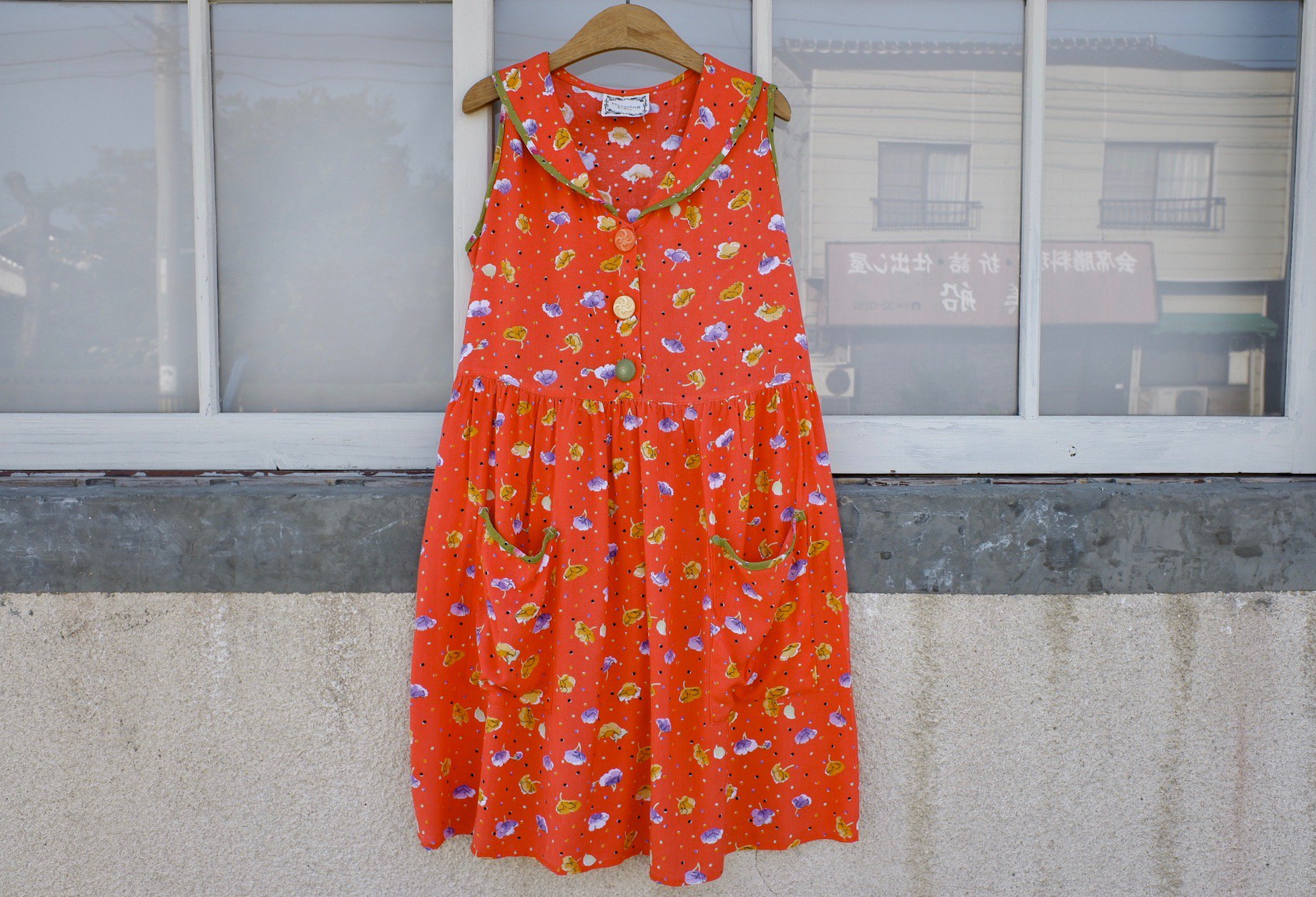 vintage/dancing at twilight one-piece