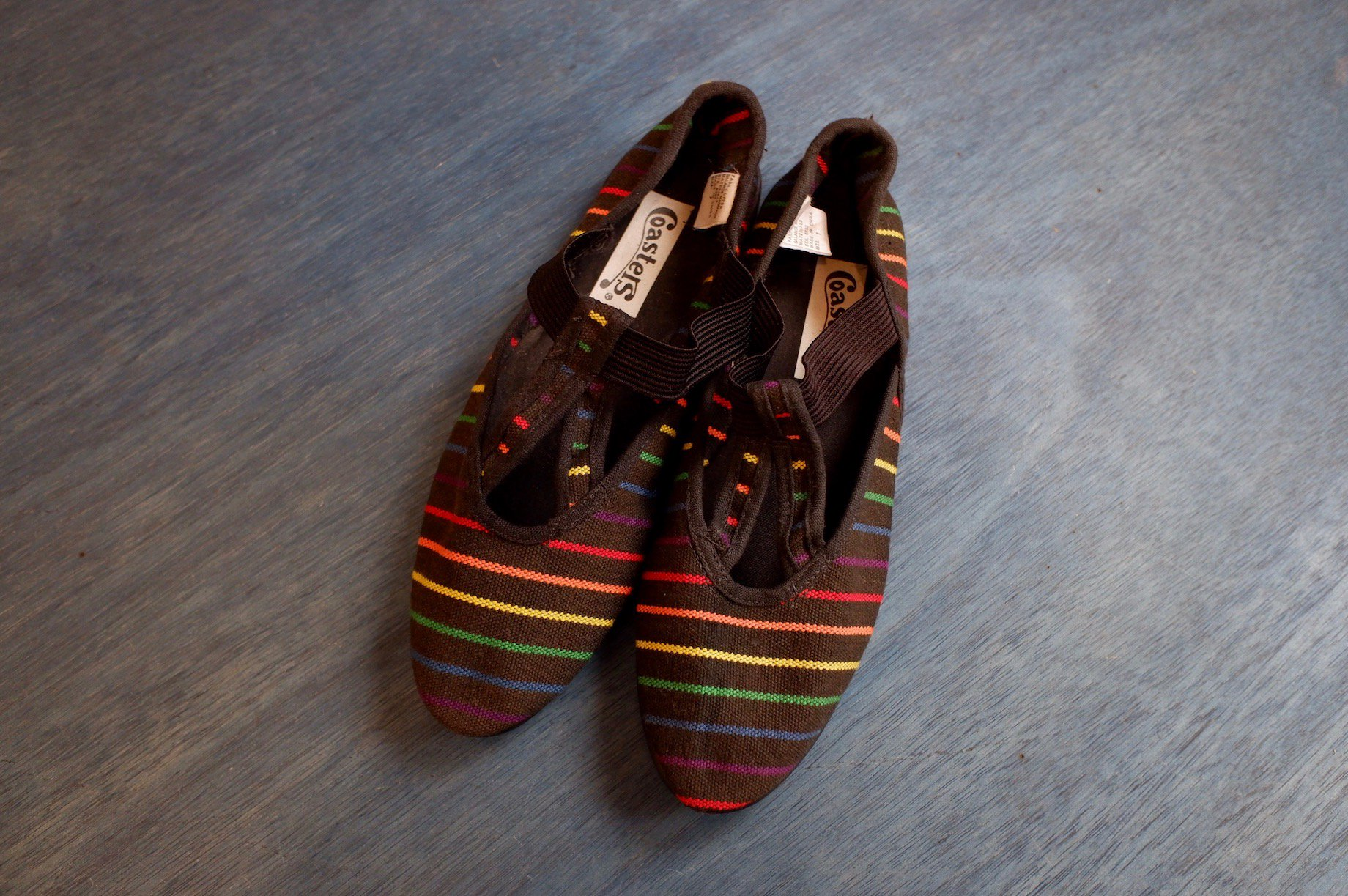 overtake the rainbow shoes