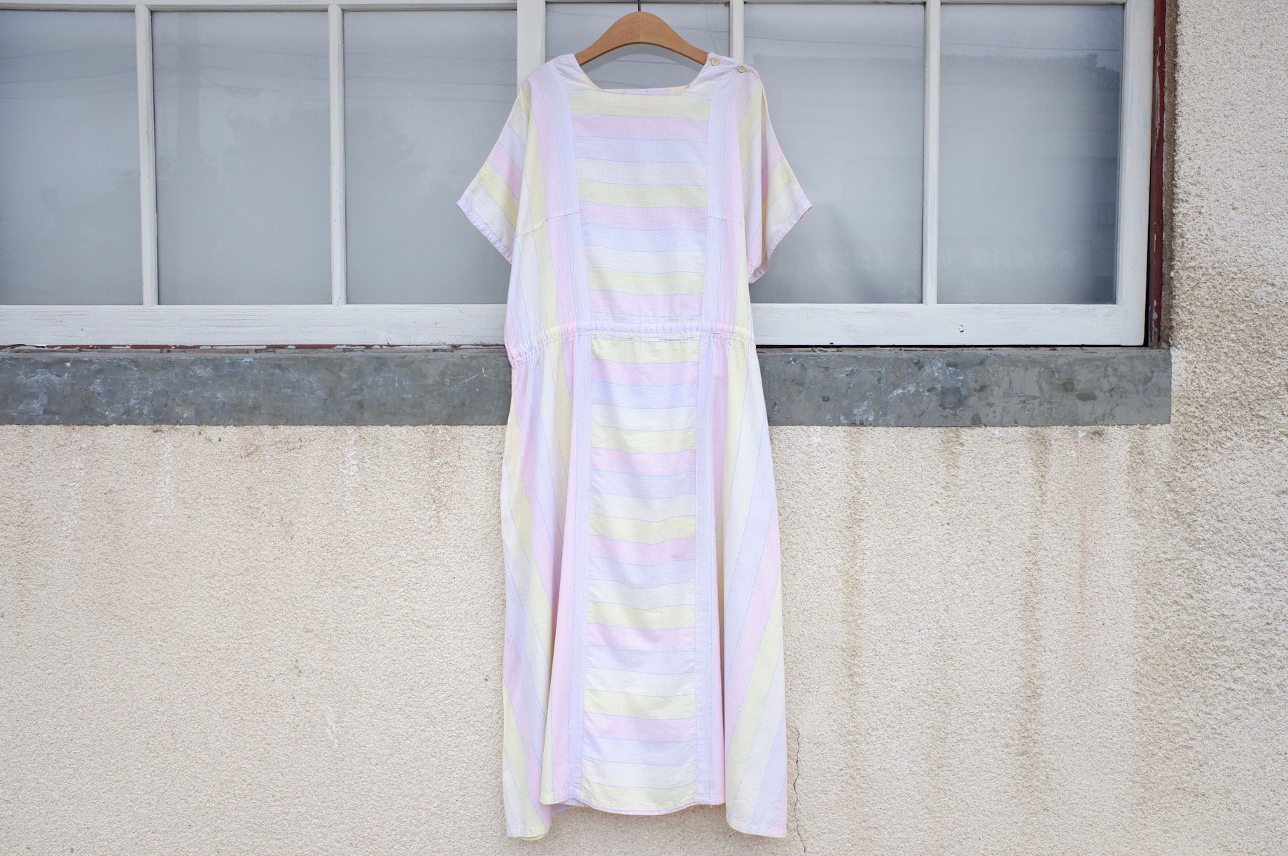vintage/after the rain going to dance one-piece