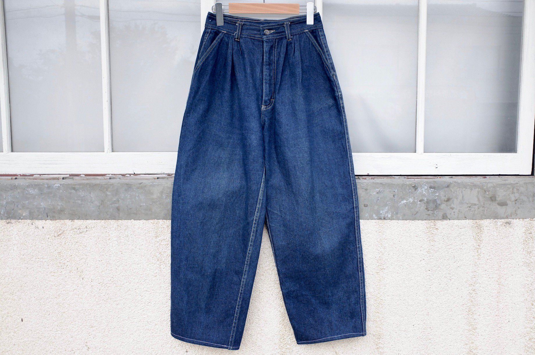 hugging thorns denim pants