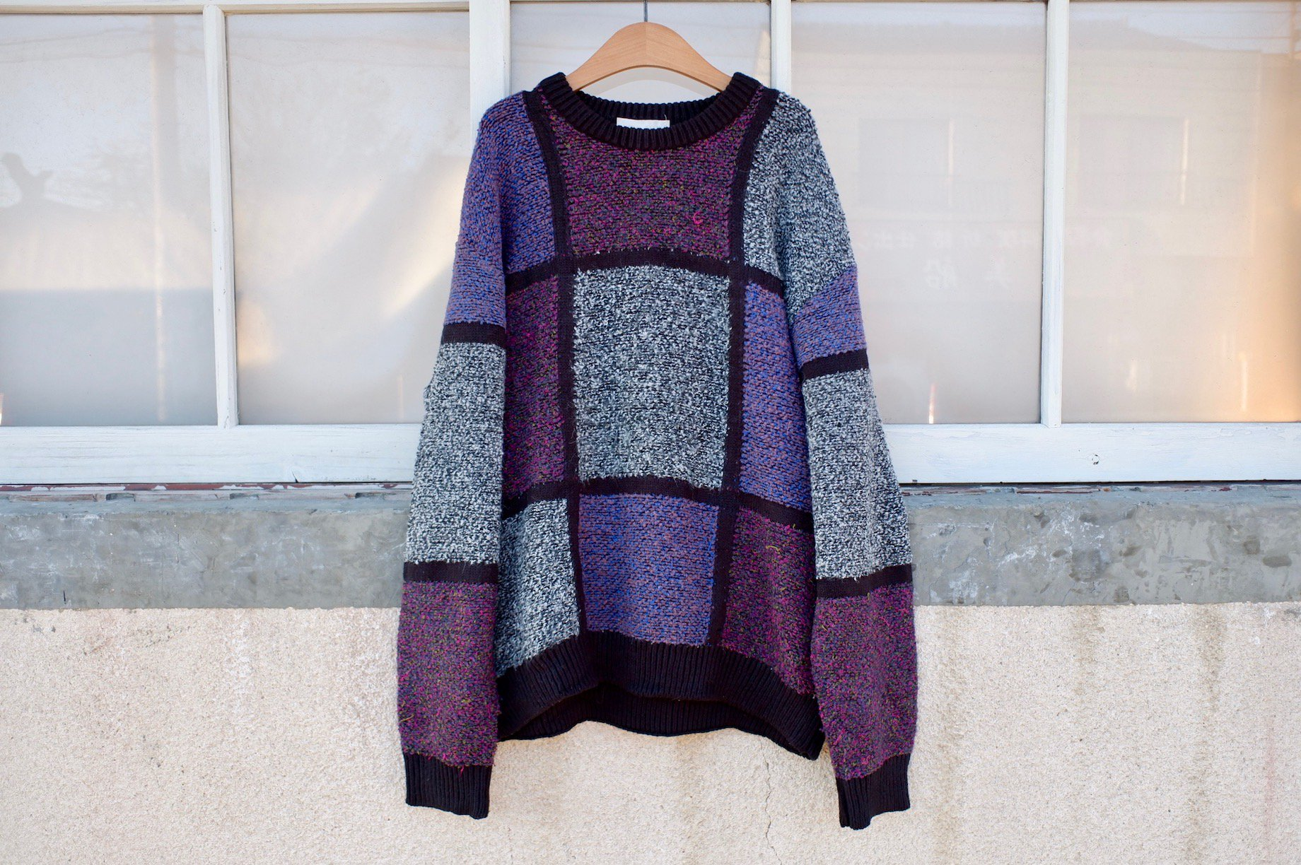 intertwined umbrella sweater