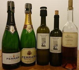 イタリア熟成ワイン会/スパークリングワイン1982年,デザートワイン1996年