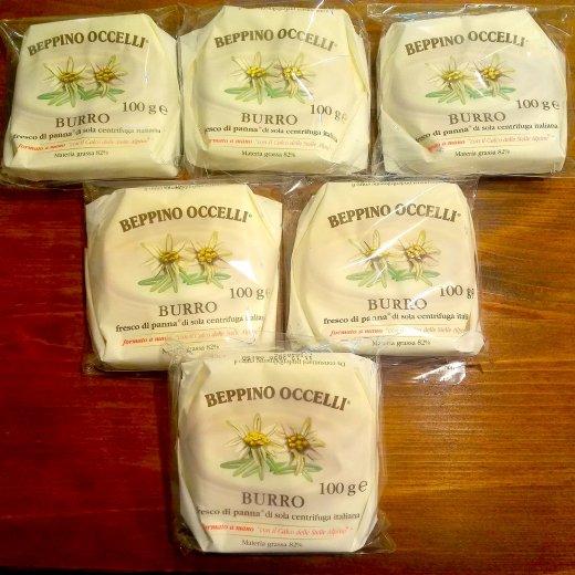 オッチェッリ:バター100g(発酵・無塩)12/3入荷分