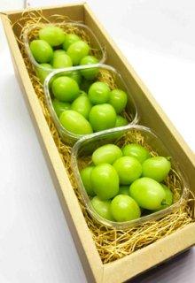 Niniファームのシャインマスカット(種なし)摘み落とし 約900g 岡山県産,家庭用