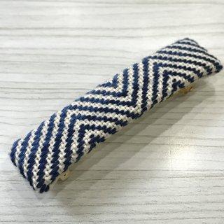 藍染のバレッタ キカガク グラデ