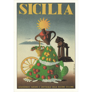 【ポストカード】Sicilia -シチリア-