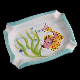 灰皿 -魚-(グリーン)
