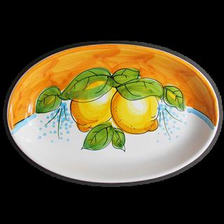 Ovale 27cm -レモンB-(オレンジ)